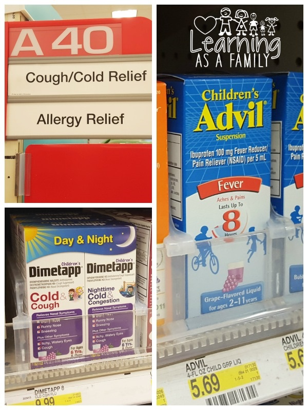 Pfizer Products for children at Target