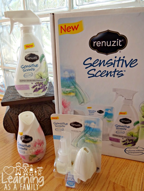 Renuzit Sensitive Scents Line of Products
