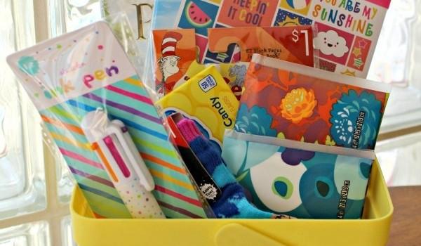 Sick Day Basket Idea for Kids!