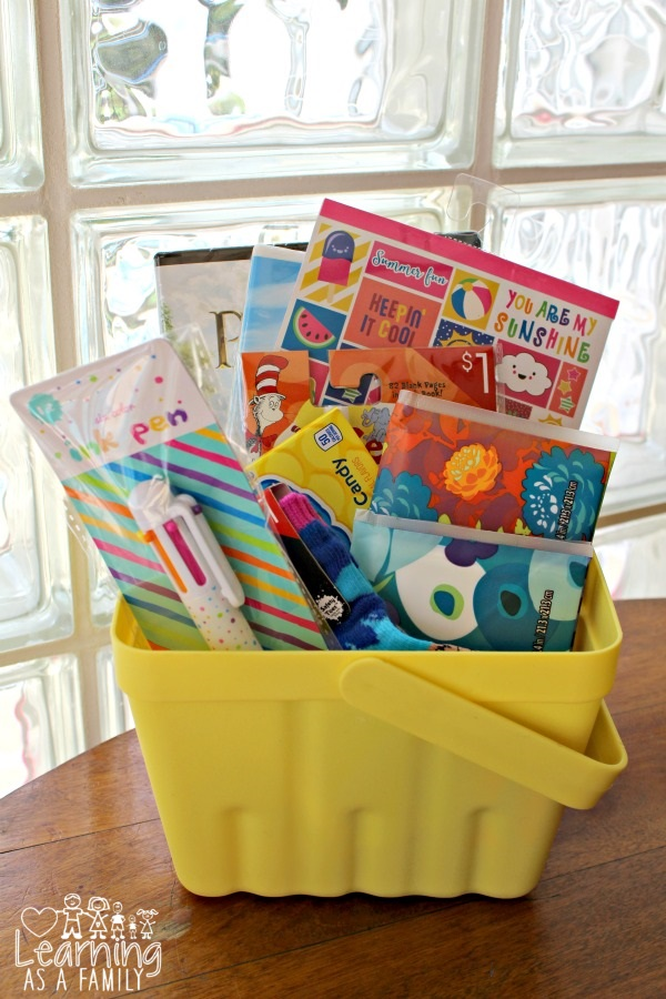 Sick Day basket for Kids made from Target Products