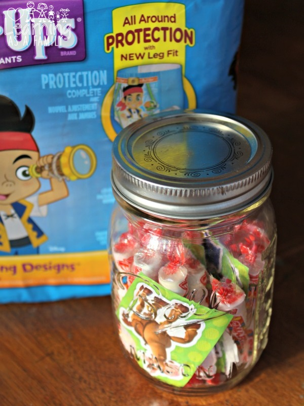 Potty Training Rewards Jar