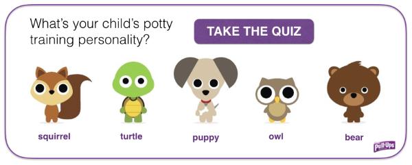PullUps Potty Training Quiz
