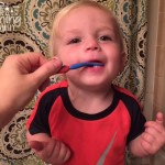 Nuby Toddler Training Toothpaste and Toothbrush Review!