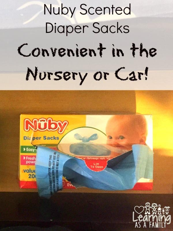 Nuby Diaper Sacks