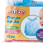 Nuby Scented Diaper Sacks Review!
