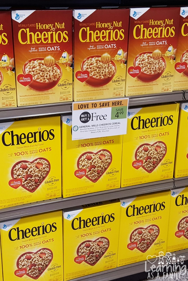 Gluten Free General Mills Cereal at Publix