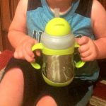Nuby Clik-it Flip-it Stainless Steel Insulated Cup with 360° Straw Review and Giveaway!