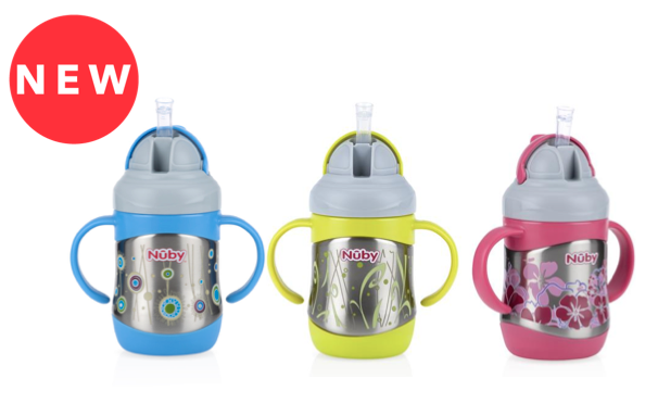 Nuby Nuby Insulated Stainless Steel Sippy