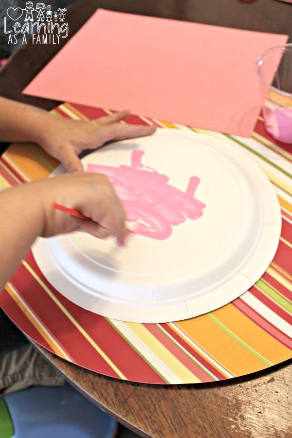Painting Piggy Paper Plate