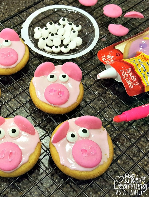 Making Pig Cookies