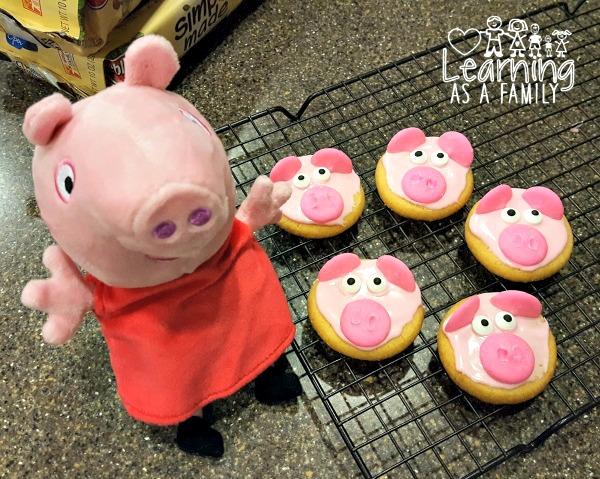 Peppa Pig With Pig Cookies