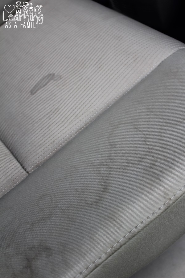 How I Remove Stains From Car Upholstery With Biz