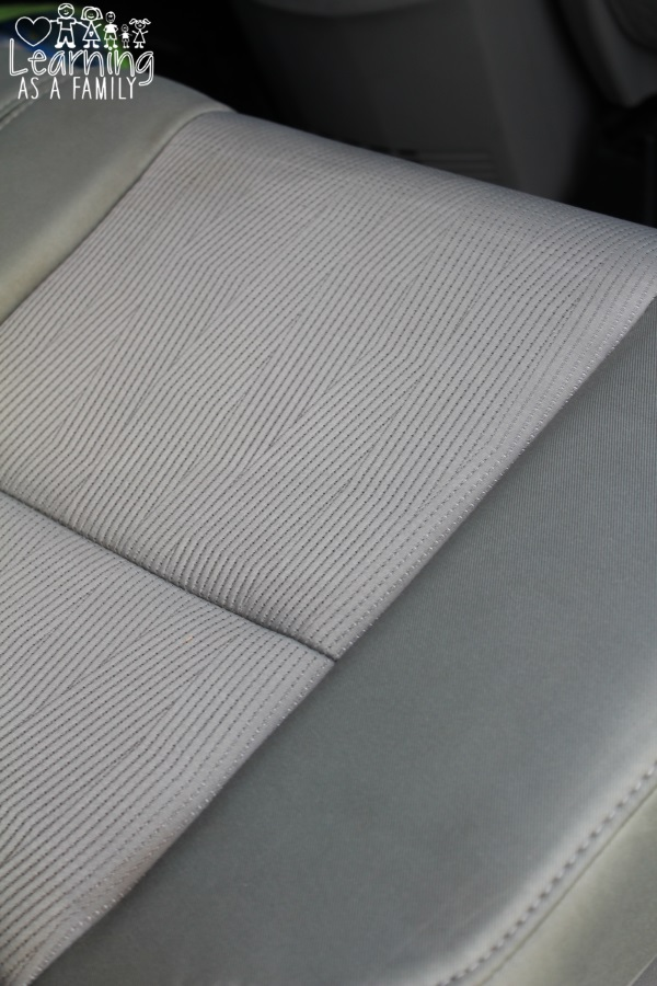 How I Remove Stains from Car Upholstery with Biz!