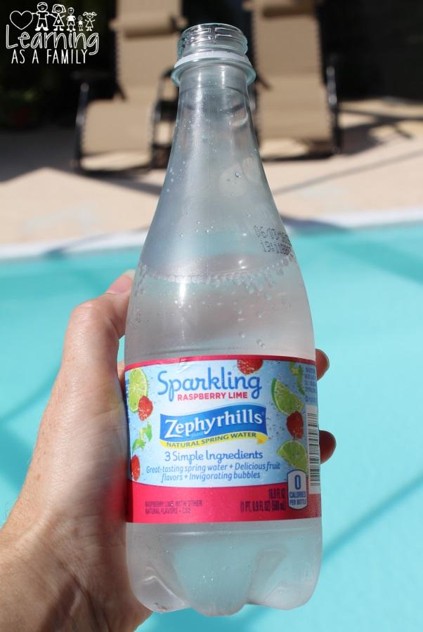 Zephyrhills Brand Sparkling Spring Water