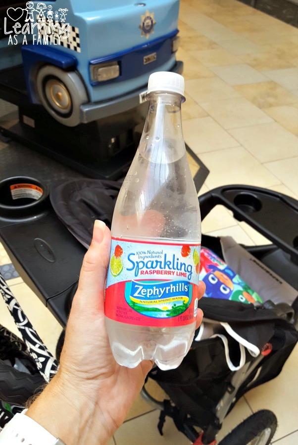 Zephyrhills Sparkling Water Raspberry Lime