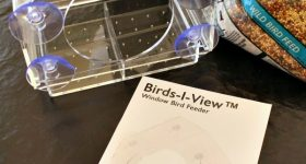 Getting Up Close To Birds With A Birds-I-View Window Bird Feeder! {Giveaway}