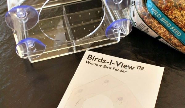 Getting Up Close To Birds With A Birds-I-View Window Bird Feeder!