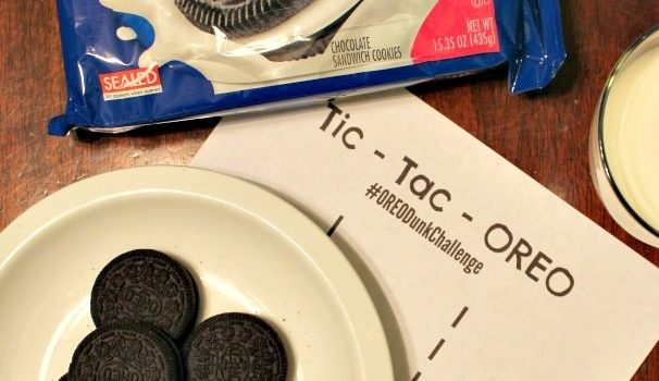 OREO Dunk Challenge Sweepstakes and the Tic-Tac-OREO Game!